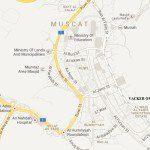 Oman office_map